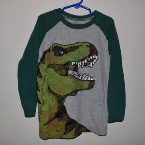 Carter's Long Sleeve Dinosaur Shirt, Size 6